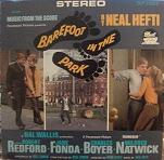 Neal Hefti: Barefoot in the Park soundtrack CD cover