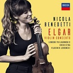 Nicola Benedetti: Elgar Violin Concerto and other works - album cover