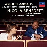 Nicola Benedetti: Wynton Marsalis Violin Concerto and Fiddle Dance Suite - album cover