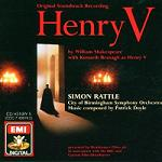 Patrick Doyle - Henry V soundtrack CD cover
