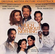 Patrick Doyle: Much Ado About Nothing - soundtrack CD cover