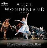 Tchaikovsky arranged Carl Davis - Alice in Wonderland CD cover
