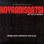 Philip Glass - Koyaanisqatsi original soundtrack CD cover