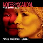 Philip Glass - Notes on a Scandal soundtrack CD cover