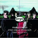 Piano Circus - Steve Reich: Six Pianos & Terry Riley: In C - album CD cover