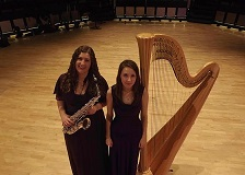 Polaris Duo: Sax and Harp