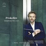 Prokofiev Symphonies 1 and 5: RSNO conductor Thomas Søndergård - album cover