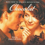 Rachel Portman: Chocolat - soundtrack CD cover