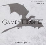 Ramin Djawadi: Game of Thrones Season 3 - soundtrack album cover