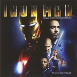 Ramin Djawadi: Iron Man - soundtrack album cover