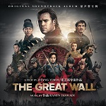 Ramin Djawadi: The Great Wall - soundtrack album cover