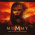 Randy Edelman - The Mummy: Tomb of the Dragon Emperor - soundtrack CD cover