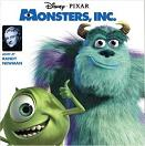 Randy Newman - Monsters Inc. soundtrack CD cover