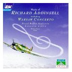 Richard Addinsell: The Warsaw Concerto, etc. CD cover