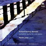 Richard Rodney Bennett: Complete Works for Solo Piano - double CD cover