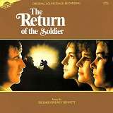 Richard Rodney Bennett: The Return of the Soldier - film score album cover