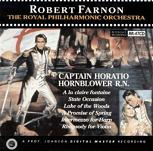 Robert Farnon: Captain Horatio Hornblower R.N. - soundtrack CD cover