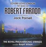 Robert Farnon: Lovers Love London - CD cover