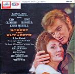 Ron Grainer: Robert and Elizabeth (musical) - vinyl cover