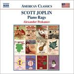 Scott Joplin Piano Rags played by Alexander Peskanov - CD cover