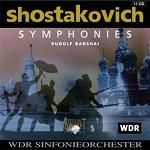 Dmitri Shostakovich: Complete Symphonies - CD box set cover