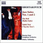 Dmitri Shostakovich: Jazz Suites 1 and 2 and more - CD cover