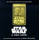 John Williams - Star Wars A New Hope soundtrack CD cover