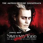 Stephen Sondheim - Sweeney Todd film soundtrack CD cover