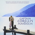 Stephen Warbeck: Captain Corelli's Mandolin - soundtrack CD cover