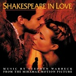 Stephen Warbeck - Shakespeare in Love soundtrack CD cover