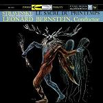 Igor Stravinsky: The Rite of Spring, Leonard Bernstein and the New York Philharmonic - CD cover