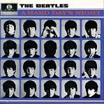 The Beatles: A Hard Day's Night - song album cover