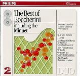 The Best of Boccherini - double CD cover