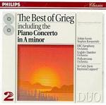 The Best of Grieg double album CD cover