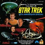 The Best of Star Trek 30th Anniversary Special - original TV soundtracks CD cover