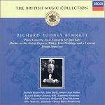 The British Music Collection: Richard Rodney Bennett - CD cover