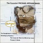 The Essential Michael Nyman Band - album CD cover