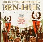 Ben Hur - the essential Miklos Rozsa CD soundtrack cover