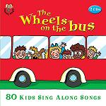 The Wheels on the Bus: 80 Kids Sing Along Songs - double album cover