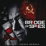 Thomas Newman: Bridge of Spies - film score soundtrack album cover