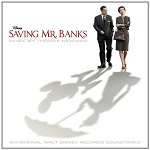Thomas Newman: Saving Mr. Banks - soundtrack CD cover