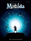 Tim Minchin: Roald Dahl's Matilda (The Musical) - sheet music book cover