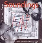 Tristram Cary - Soundings: Electroacoustic Works 1955-1996 - album CD cover