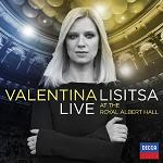 Valentina Lisitsa: Live at the Royal Albert Hall - album CD cover