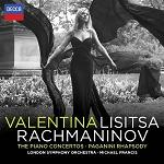 Valentina Lisitsa: Rachmaninov - double-album CD cover
