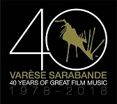 Varese Sarabande: 40 Years of Great Film Music 1978-2018 (double-album cover)