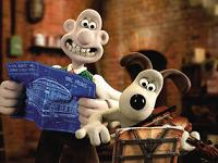 Wallace and Gromit prepare for the Proms - copyright Aardman Animations Ltd. 2012
