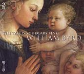 William Byrd - Choral Works CD double-album cover