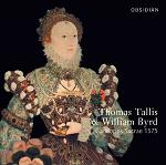 William Byrd & Thomas Tallis - Cantiones Sacrae 1575 double-CD cover