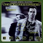 Alan Silvestri: Eraser - signed CD